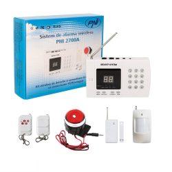 PNI Vezeték nélküli telefonos riasztórendszer, 2 érzékelővel, szirénával (2700A)