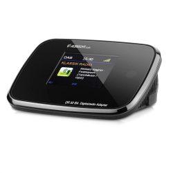 Albrecht DR 52 BA Bluetooth FM/DAB rádió adapter, színes kijelzővel, RDS-el (27255)