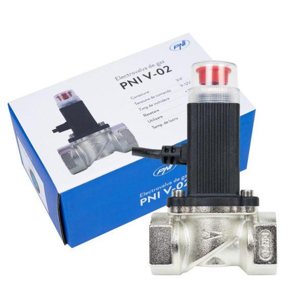 PNI Elektromos gázelzáró szelep (ACT-V02)