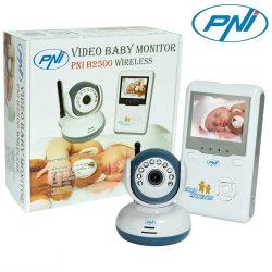 PNI Vezeték nélküli, videós babafigyelő  (B2500)