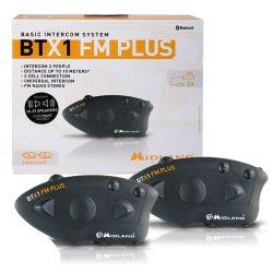 Midland BTX1 FM Plus motoros kommunikációs rendszer, 2db (C1142.05)