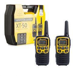 Midland XT50 ADVENTURE, 8km-es, akkumulátoros adó-vevő, dokkolóval, headsettel (C1178-01)