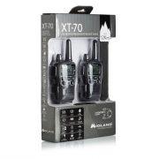 Midland XT70, 12km-es, akkumulátoros adó-vevő, dokkolóval, headsettel (C1180)