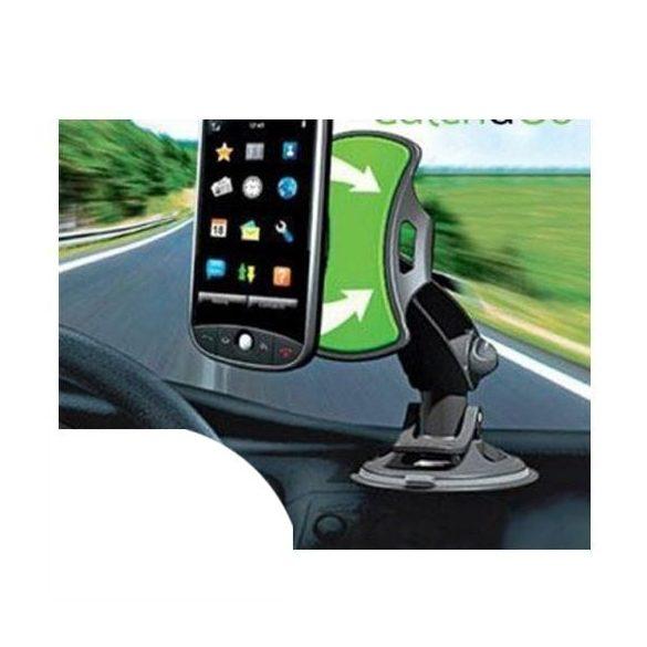 Nanopados telefontartó szélvédőre (PDA-S2257)