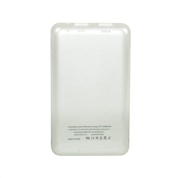 PNI Hordozható akkumulátor, 10.000 mAh, 2xUSB (PNI-1014)