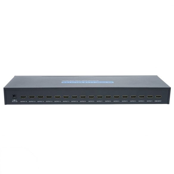PNI 16 portos FullHD/3D HDMI elosztó/splitter (PNI-16HDMIHK)
