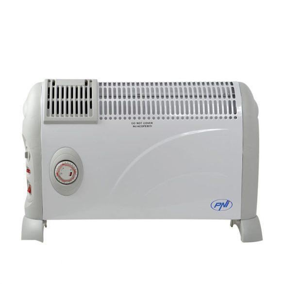 PNI Elektromos fűtőtest, 3 fokozat, ventilátor, időzítő, termosztát (PNI-2000W)