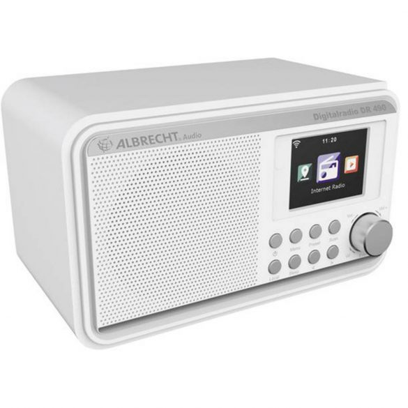 Albrecht DR 490 FM/DAB Internetes rádió, színes kijelzővel (PNI-27491)