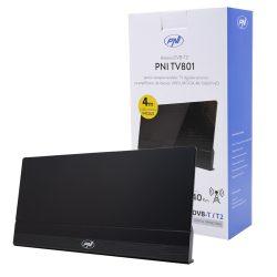 PNI DVB-T2 antenna erősítővel, beltéri 30dB FM / VHF / UHF (PNI-30dB-1DVB)