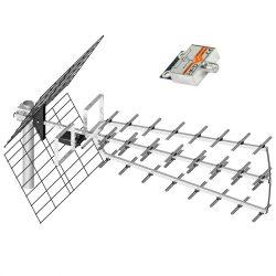 PNI DVB-T2 TV antenna, 44dB (PNI-44DB-DVB)