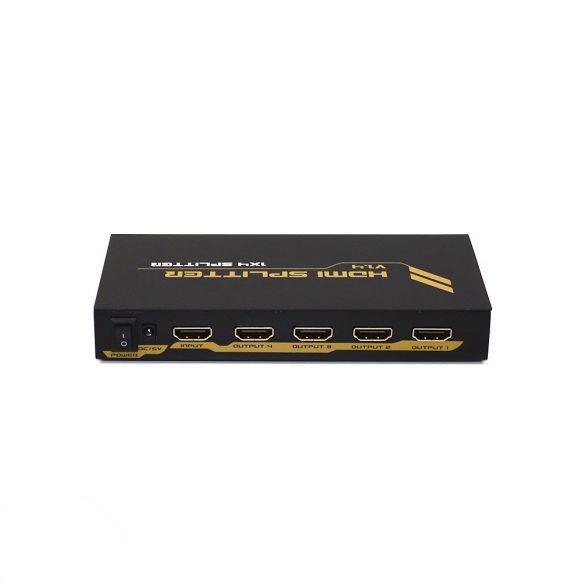 PNI 4 portos 4K/3D HDMI elosztó/splitter (PNI-4HDMIP)
