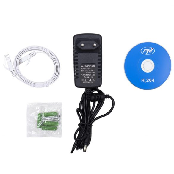 PNI 5.0Mp-es, PTZ, IP robotkamera WiFi-vel, microSd foglalattal, 5x zoom (PNI-655B)