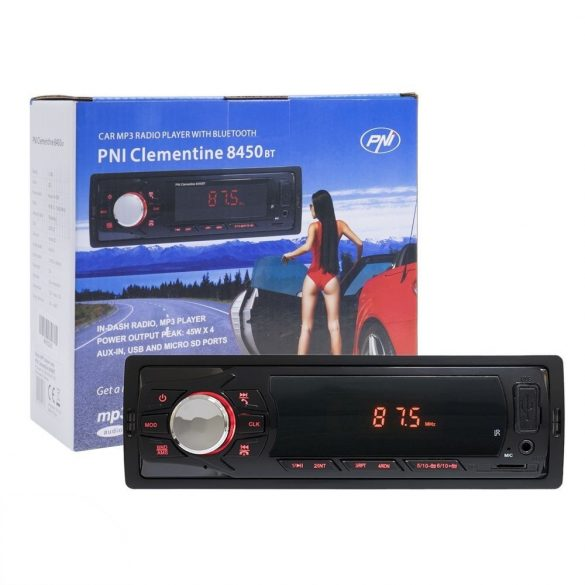 PNI Mp3-as Bluetooth autórádió (PNI-8450BT)