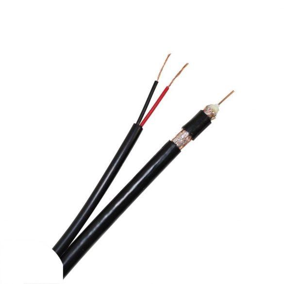PNI RG59 koax+tápkábel (PNI-ACCTV100MB)