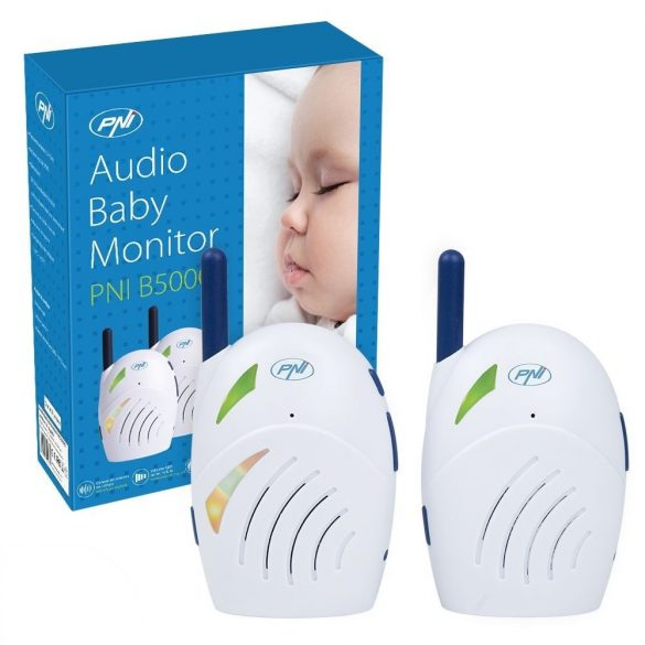 PNI Nagy hatótávolságú bébifigyelő, duplex hanggal (PNI-B5000)