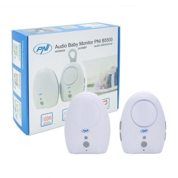 PNI Bébifigyelő, duplex hanggal, USB-vel (PNI-B5500)