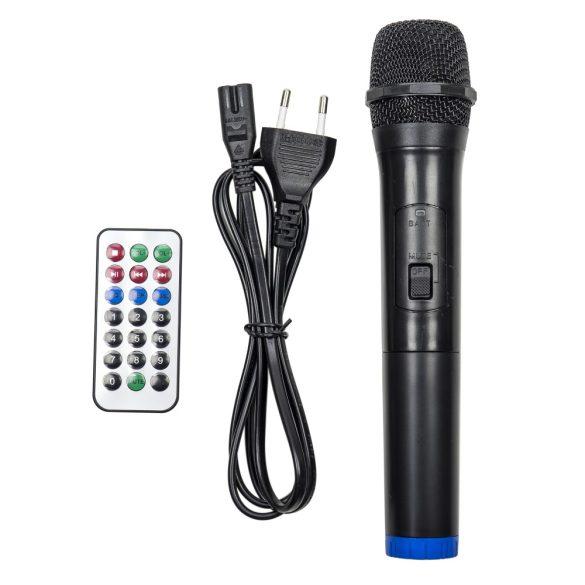 PNI Hordozható, akkumulátoros, 30W, aktív hangfal és médialejátszó, karaokee mikrofonnal (PNI-BT301)