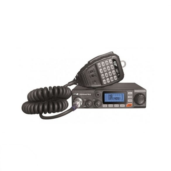 CRT CB rádió 12/24V, ASQ, AM/FM (PNI-CRTMEGAPRO)