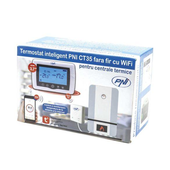 PNI Intelligens WiFi-s termosztát beltéri vezérlővel (PNI-CT10)