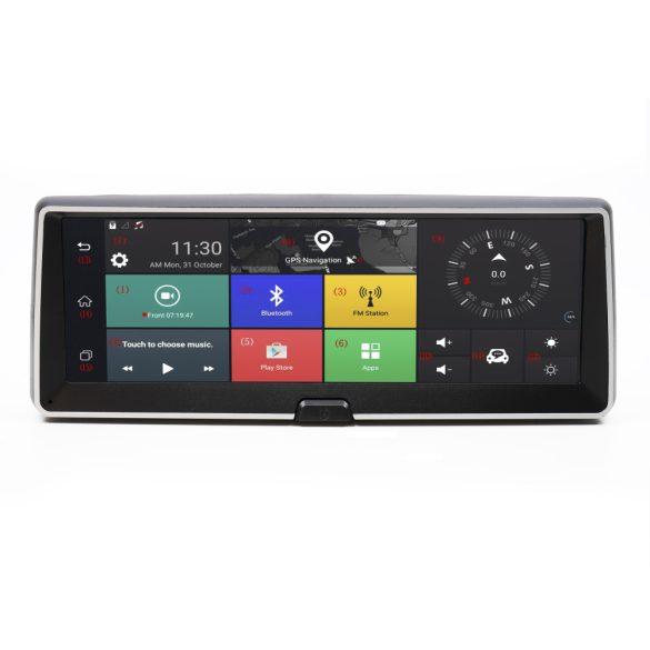 PNI 4G-s, Androidos műszerfal multimédia, GSM modul, kamera, GPS, SIM foglalat, tolató kamera (PNI-DH706)