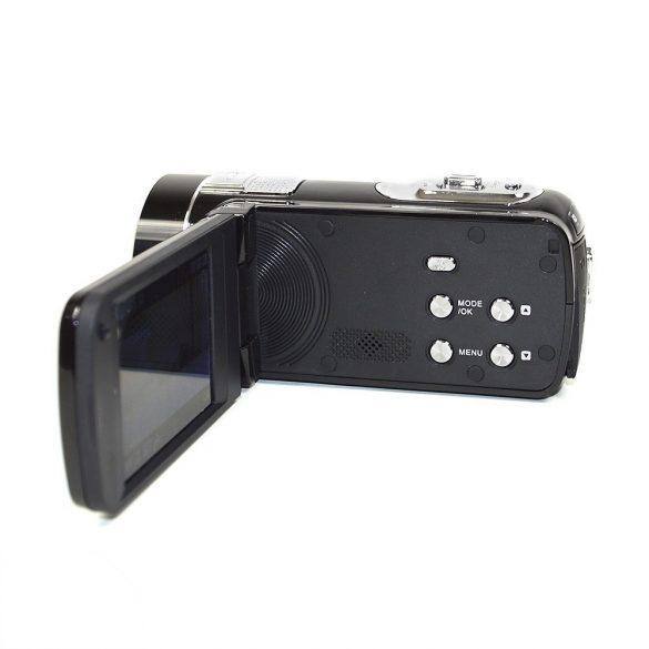Amkov Digitális, FullHD videokamera, színes kijelzővel, 24Mp (PNI-DV161HD)
