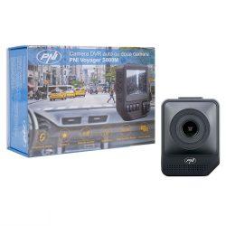 PNI Dupla kamerás, Sony chipes, FullHD menetrögzítő +16Gb microSD (PNI-DVRS800)