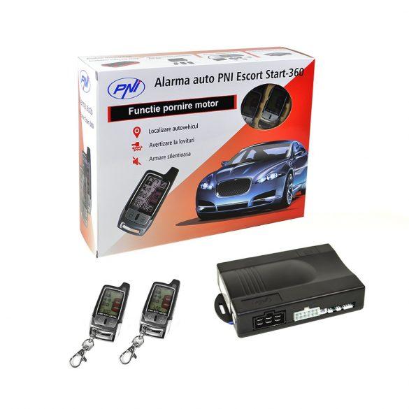 PNI Escort Start autóriasztó és központi zár vezérlő csomag (PNI-ES360)