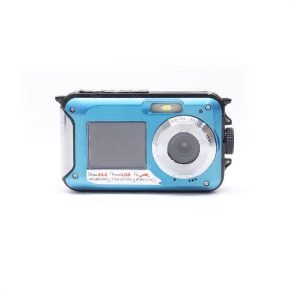 PNI Vízálló, digitális fényképezőgép dupla kijelzővel, 24Mp (PNI-EXP-MW99)