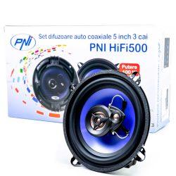 PNI 13cm-es, 3 utas autó hangszóró, 4Ohm, 100W (PNI-FI500)