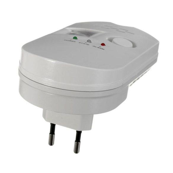 PNI Konnektoros gázszivárgás érzékelő, 433MHz-es jelátvitellel (PNI-GD15)