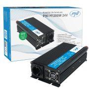 PNI Nagy teljesítményű inverter 24V->220V (PNI-H1200W24V)