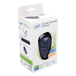 PNI Hálózati USB töltőközpont, 4 kimenettel (PNI-HC41)