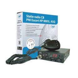 PNI CB rádió 12V, 40 csatornás ASQ, AM/FM +Headset (PNI-HP8001L)