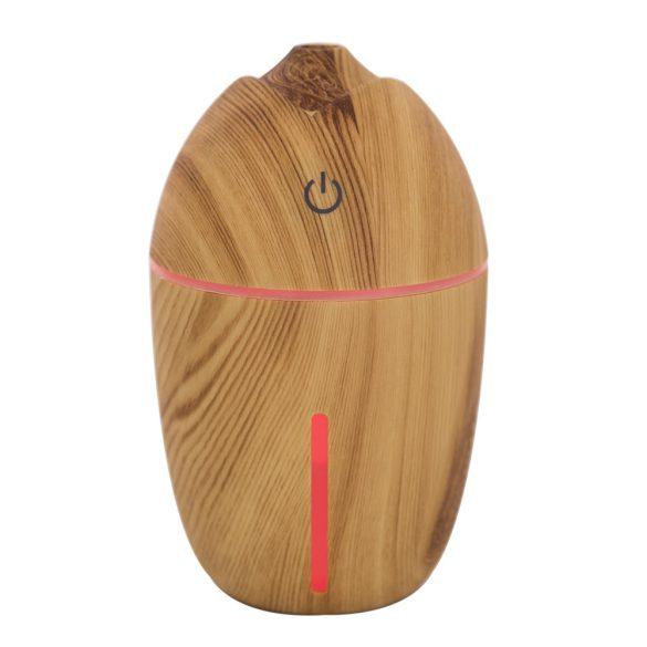 PNI Párásító készülék, bambusz mintával, színes megvilágítással (PNI-HU708)