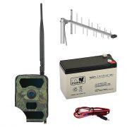 PNI Vadkamera szett, GSM modullal, kijelzővel, akkumulátorral, külső antennával (PNI-HUNT300KIT)