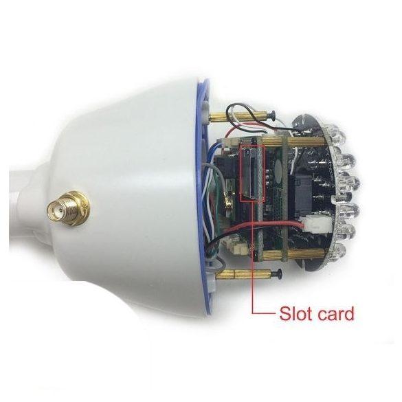 PNI 1.0Mp-es Hd, WiFi, IP csőkamera microSd kártya foglalattal (PNI-IP31)