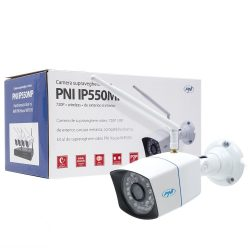 PNI 1.0Mp-es Hd, WiFi, IP csőkamera (PNI-IP550MP)