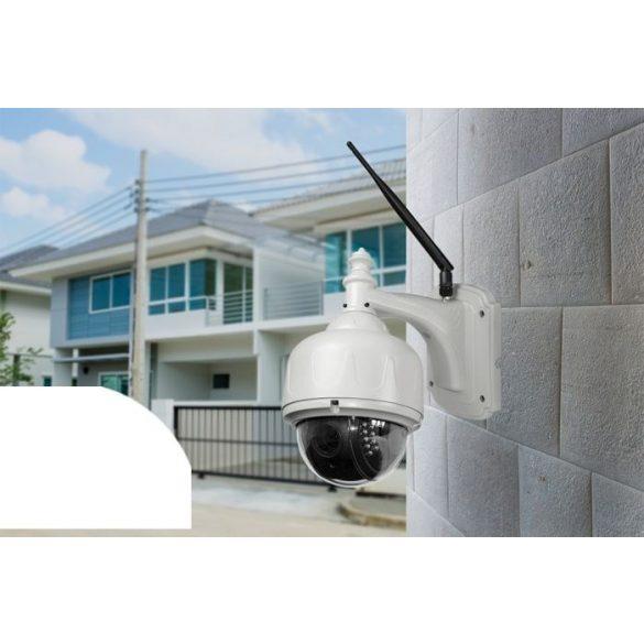 PNI 1.0Mp-es, Hd, PTZ, IP robotkamera WiFi-vel, microSd foglalattal (PNI-IP631W)