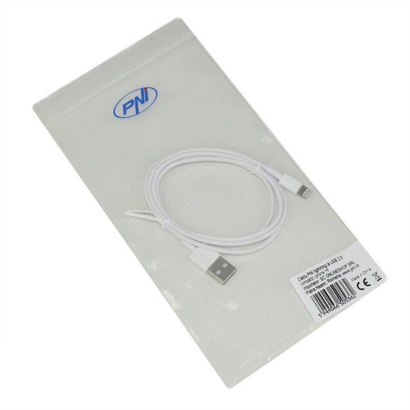 PNI USB 2.0 kábel, iPhone kompatibilis, 1m (PNI-L100)