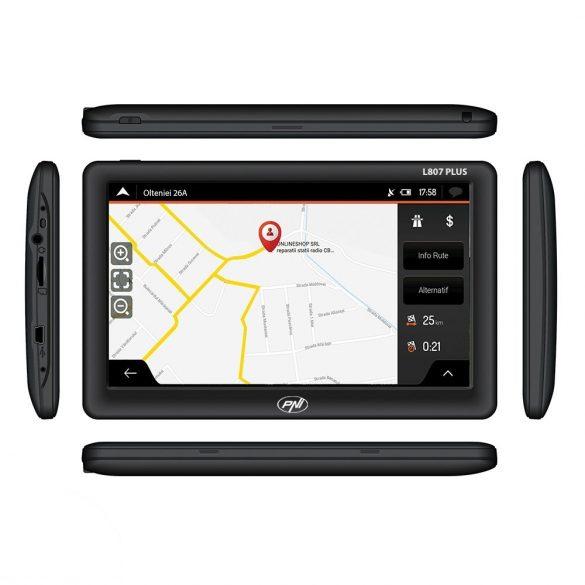 "PNI 7"" Multimédiás GPS navigáció FM transmitterrel (PNI-L807-PLUS)"