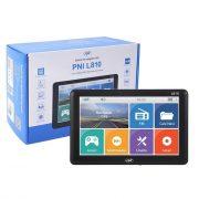 "PNI 7"" Multimédiás GPS navigáció FM transmitterrel (PNI-L810)"
