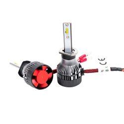 PNI Autós LED fényszóró izzó, H1 M9, 12-24V, 6000K, 2db (PNI-LEDH1-160K)