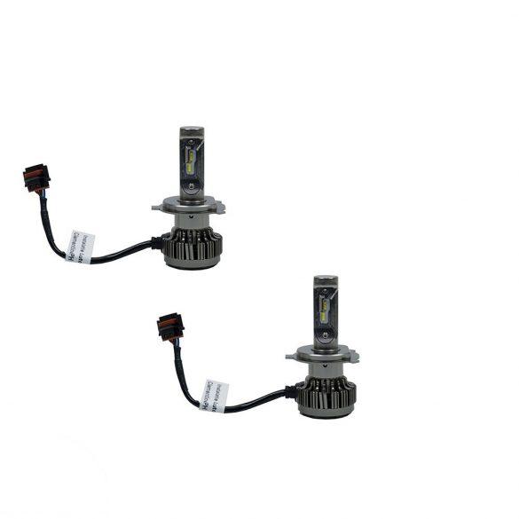 PNI Autós LED fényszóró izzó, H4 PH, 6000K, 8000LM, 2db (PNI-LEDH4-P60K)