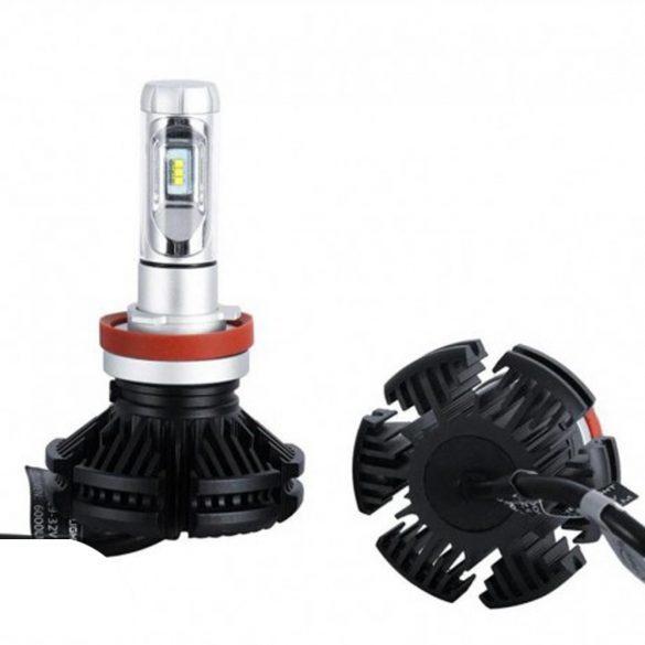 PNI Autós LED fényszóró izzó, H8 X3, 6000K, 2db (PNI-LEDH8-260K)