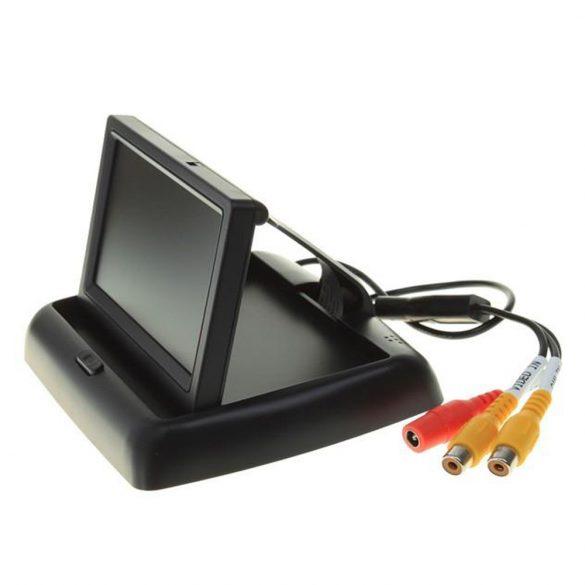 PNI Színes lehajtható monitor, tolató kamerákhoz (PNI-MA432)