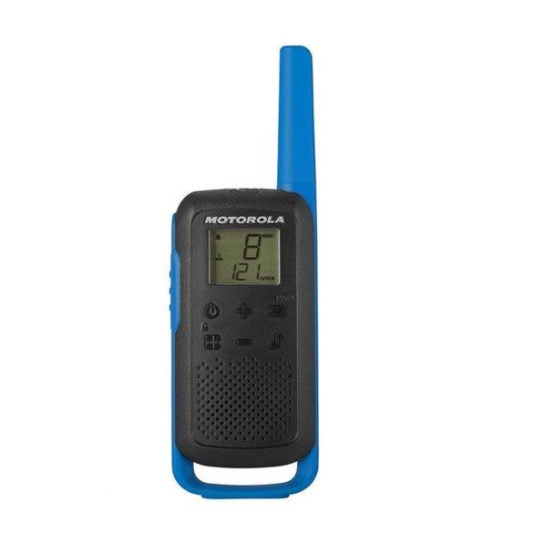 Motorola TALKABAUT T62 akkumulátoros adó-vevő készülék, 8km-es hatótávolsággal (PNI-MTAT62B)