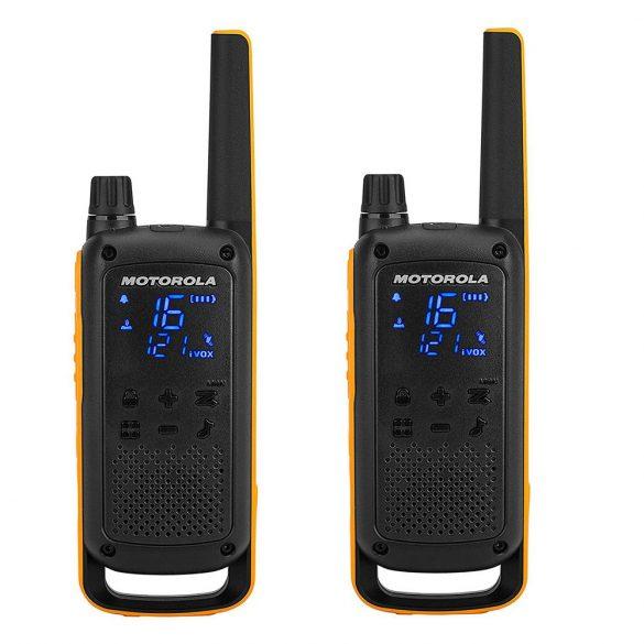 Motorola TALKABOUT T82 EXTREME adó-vevő készülék, 10km-es hatótávolsággal (PNI-MTAT82E)