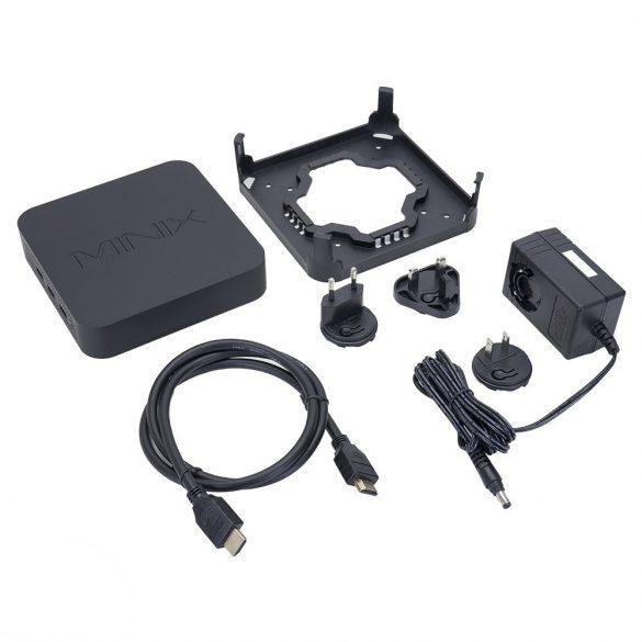 Minix mini PC és multimédia lejátszó, USB, 4GB RAM, 32GB (PNI-N42C-4)