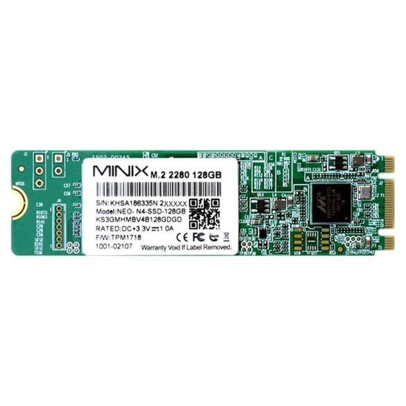 Minix mini PC és médialejátszó, USB, 4GB RAM, 128GB (PNI-N42C-SSD)