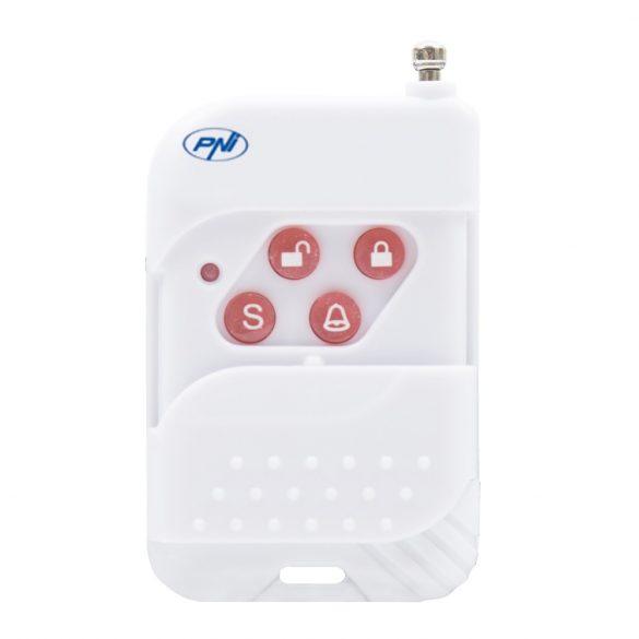 PNI Vezeték nélküli GSM riasztórendszer, 2 érzékelővel, szirénával (PNI-PG2710)